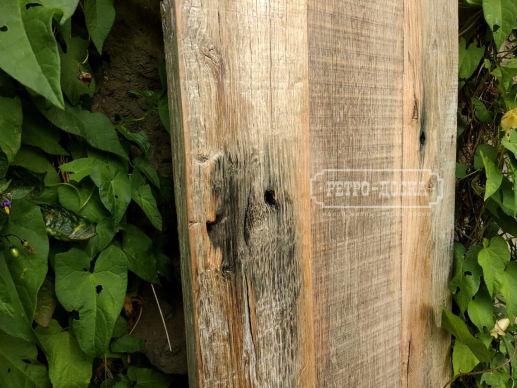 Амбарная доска старый дуб. Без покрытия